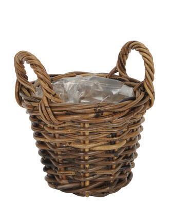 Ratanový košík - obal na rastlinu priemer 20cm a 26cm - 2