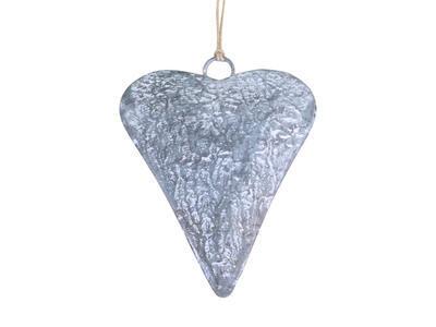 Srdce - závesná dekorácia 10cm x7,5cm x 1,5cm - 2