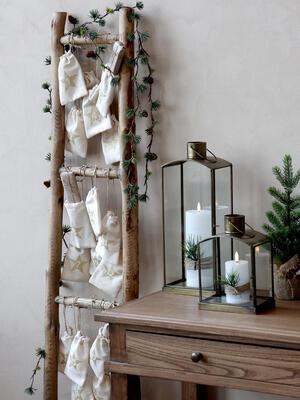 Svietnik, lampáš, lucerna výška 40cm/ 31,5cm/ 23,5cm - 2