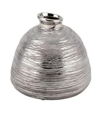 Váza strieborno-hnedá - 2