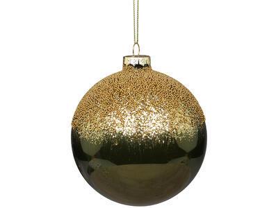Vianočná guľka sklenená 10cm - 2