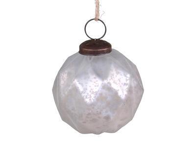 Vianočná guľka sklenená 7cm - 2
