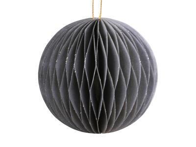 Vianočná origami ozdoba guľka priemer 8cm - 2