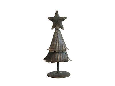 Vianočný dekoračný stromček 10cm x 4,5cm - 2