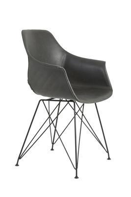 Jedálenská stolička SERBIN grey - 3