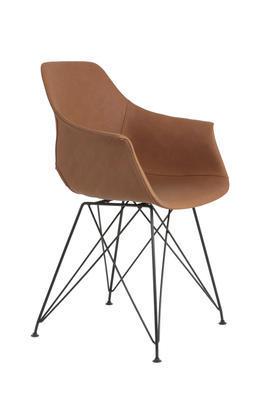 Jedálenská stolička SERBIN brown - 3