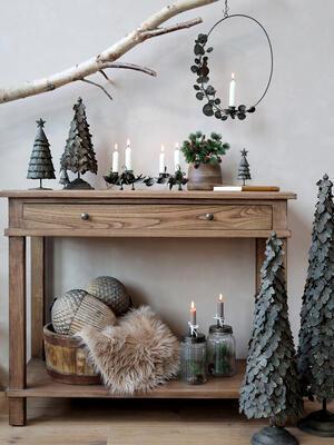 Vianočný dekoračný stromček 10cm x 4,5cm - 3