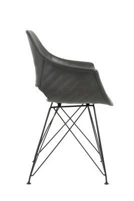 Jedálenská stolička SERBIN grey - 4