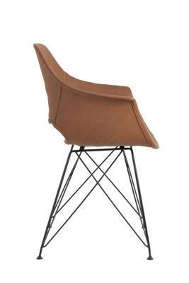 Jedálenská stolička SERBIN brown - 4
