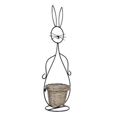 Košík - obal, stojan na rastlinu 20*31*83 cm/ 15*23*67 cm - 4