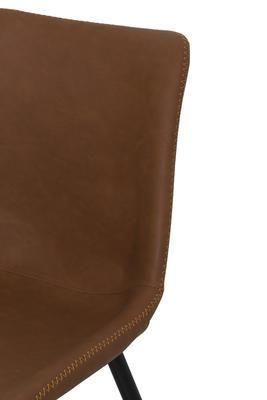 Jedálenská stolička KOVAC brown - 5