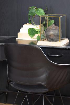 Jedálenská stolička SERBIN grey - 6